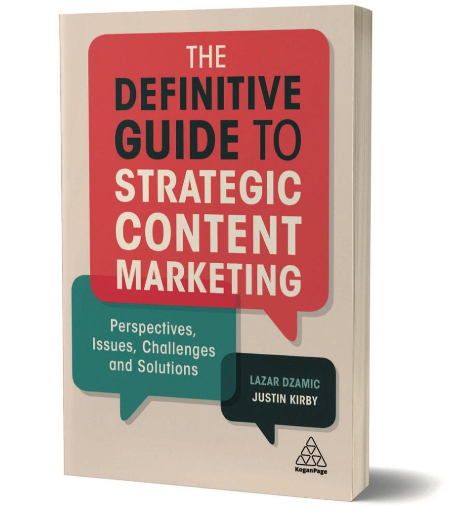 Definitive Guide to Strategic Content Marketing by author Lazar Dzamic