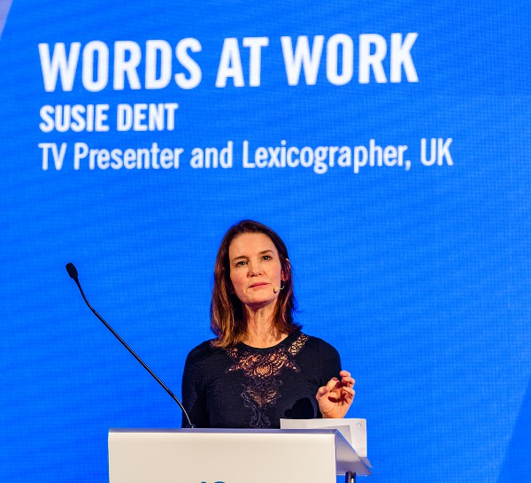 Leading Conference Speaker | Susie Dent - Words in the Workplace